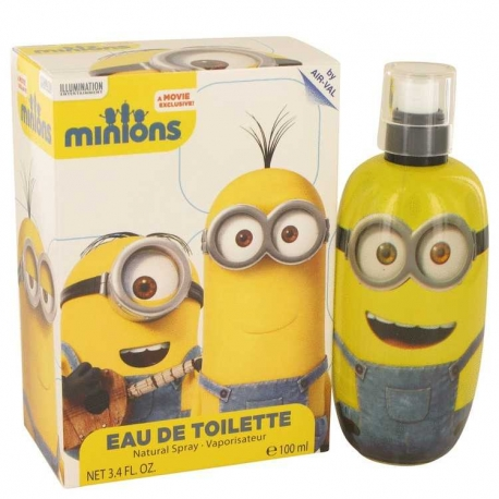 Minions Minions Yellow Eau De Toilette Spray