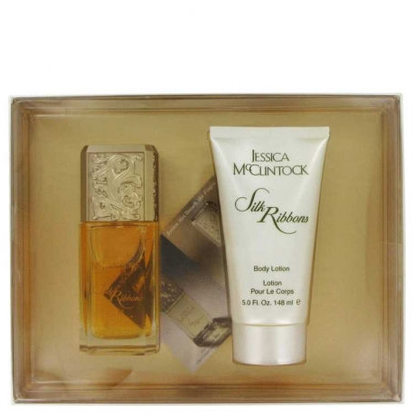 Jessica Mcclintock JESSICA Mc CLINTOCK Silk Ribbon Gift Set 100 ml Eau De Parfum Spray + 150 ml Body Lotion