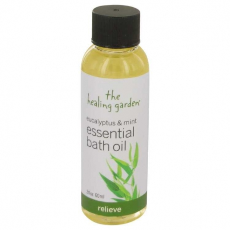The Healing Garden Eucalyptus & Mint Bath Oil