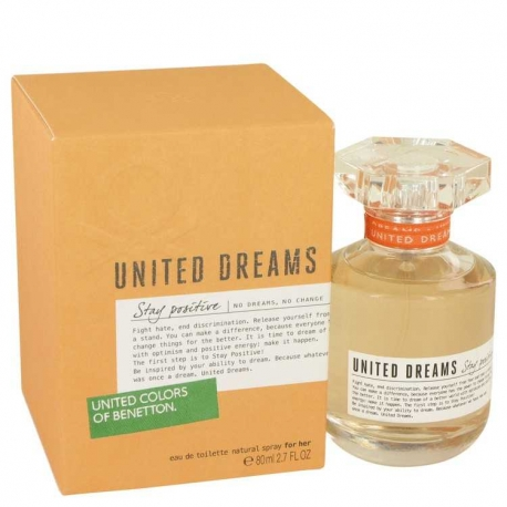 Benetton United Dreams Stay Positive Eau De Toilette Spray