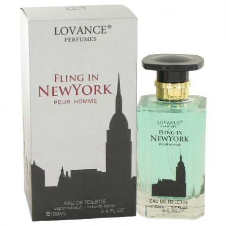Lovance Fling In New York Eau De Toilette Spray