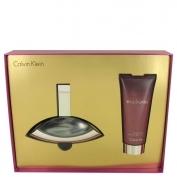 Calvin Klein Euphoria Gift Set 3.4 oz Eau De Parfum Spray + 3.4 oz Sensual Skin Lotion