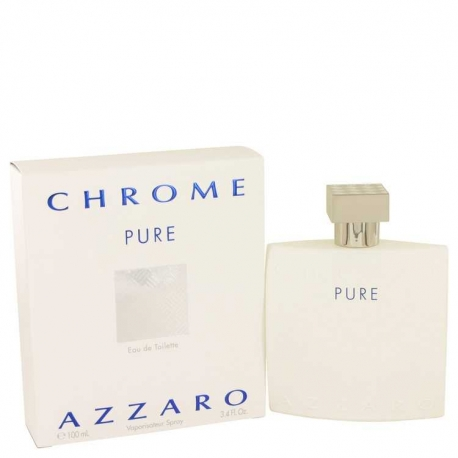 Azzaro Chrome Pure Eau De Toilette Spray