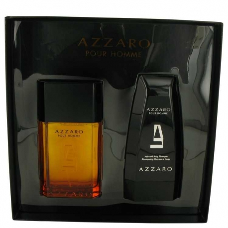 Azzaro Pour Homme Gift Set 3.4 oz Eau De Toilette Spray + 5 oz Hair & Body Shampoo