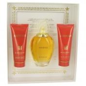 Givenchy Amarige Gift Set 3.3 oz Eau De Toilette Spray + 2.5 oz Body Lotion + 2.5 oz Bath Gel