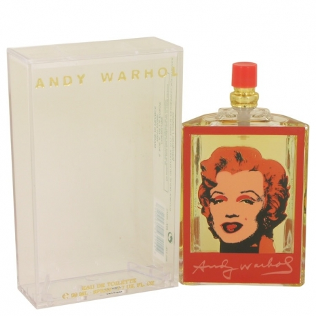 Andy Warhol Andy Warhol Marilyn Red Eau De Toilette Spray