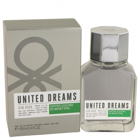 Benetton United Dreams Men Aim High Eau De Toilette Spray