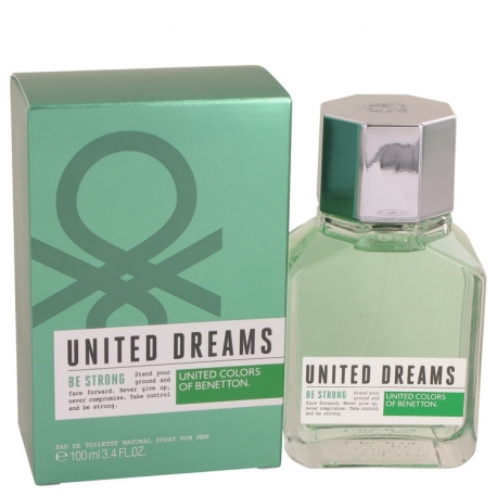 Benetton United Dreams Men Be Strong Eau De Toilette Spray