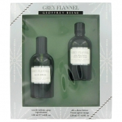Geoffrey Beene Grey Flannel Gift Set 120 ml Eau De Toilette Spray + 120 ml After Shave
