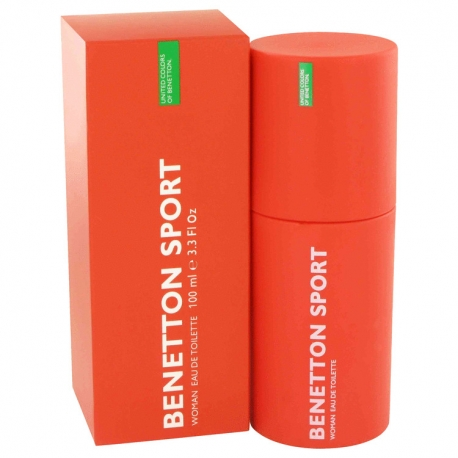 Benetton Sport Women Eau De Toilette Spray