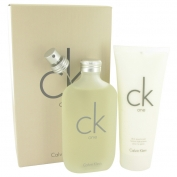 Calvin Klein Ck One Gift Set 200 ml Eau De Toilette Spray + 200 ml Body Moisturizer