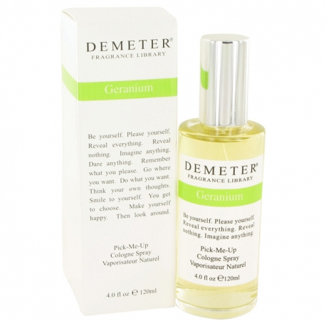 Demeter Fragrance Vintage Naturals 2009 Geranium Cologne Spray