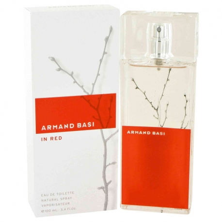 Armand Basi In Red Eau De Toilette Spray