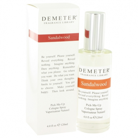 Demeter Fragrance Sandalwood Cologne Spray