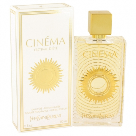 Yves Saint Laurent Cinema Festival D`ete Summer Fragrance Eau D'Ete Spray