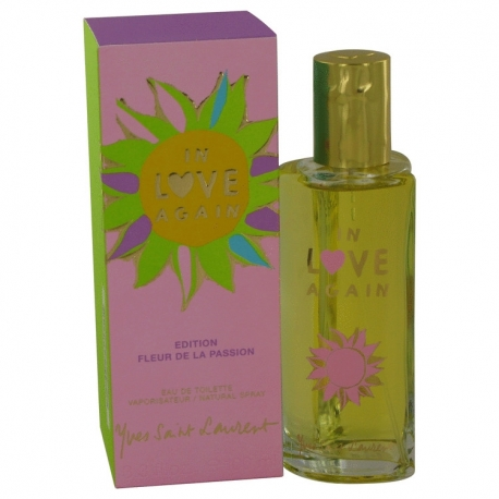 Yves Saint Laurent In Love Again Edition Fleur De La Passion Eau De Toilette Spray