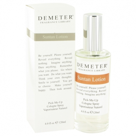Demeter Fragrance Suntan Lotion Cologne Spray