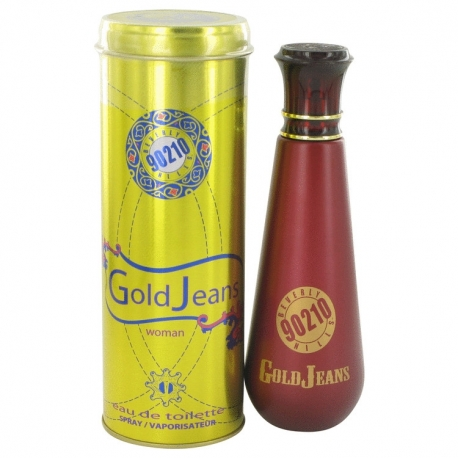 Torand Beverly Hills 90210 Gold Jeans Eau De Toilette Spray