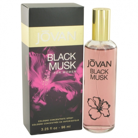 Jovan Black Musk Cologne Concentrate Spray