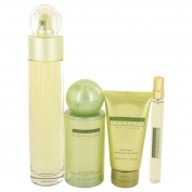 Perry Ellis Reserve Gift Set 100 ml Eau De Parfum Spray + 10 ml Mini EdP Spray + 120 ml Body Mist Spray + 60 ml Hand Cream