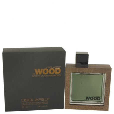 Dsquared² He Wood Rocky Mountain Wood Eau De Toilette Spray