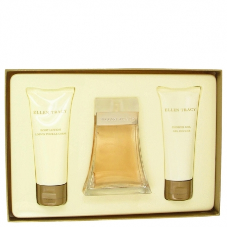 Ellen Tracy Ellen Tracy Gift Set 100 ml Eau De Parfum Spray + 100 ml Body Lotion + 100 ml Shower Gel