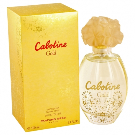 Gres Cabotine Gold Eau De Toilette Spray
