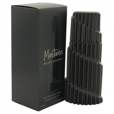 Montana Black Edition Eau De Toilette Spray