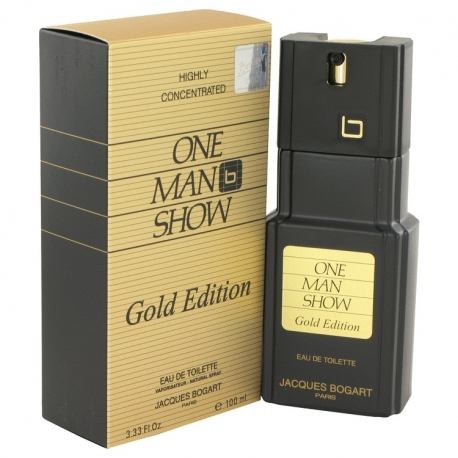 Jacques Bogart One Man Show Gold Edition Eau De Toilette Spray