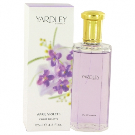Yardley April Violets Eau De Toilette Spray