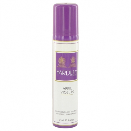 Yardley April Violets Body Spray