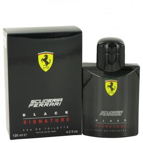 Ferrari Scuderia Ferarri Black Signature Eau De Toilette Spray
