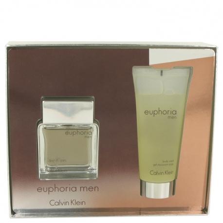 Calvin Klein Euphoria Men Gift Set 50 ml Eau De Toilette Spray + 100 ml Shower Gel