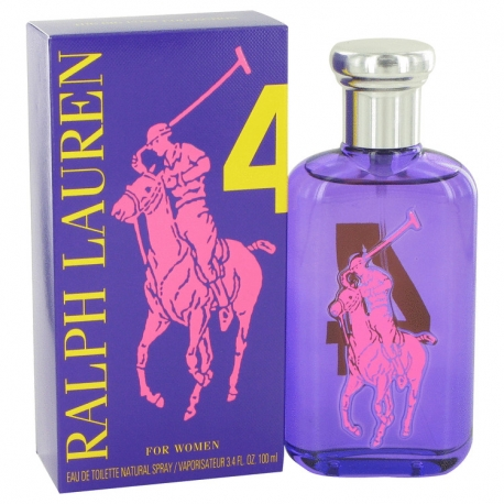 Ralph Lauren Big Pony 4 For Women Eau De Toilette Spray