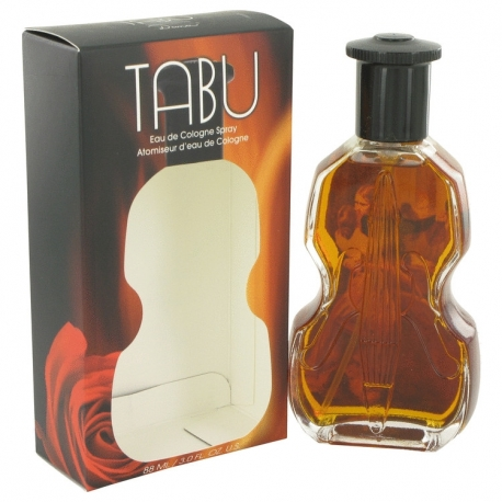 Dana Tabu Eau De Cologne Spray (Violin Bottle)