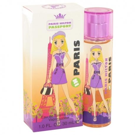 Paris Hilton Passport Paris Eau De Toilette Spray