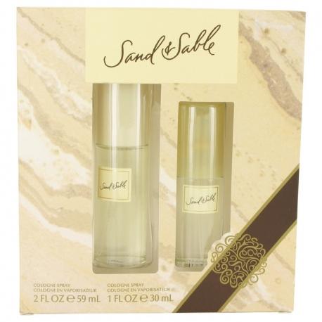 Coty Sand & Sable Gift Set 60 ml Cologne Spray + 30 ml Cologne Spray