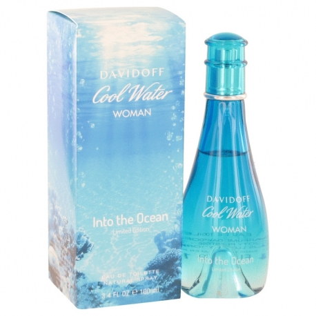 Davidoff Cool Water Into The Ocean Woman Eau De Toilette Spray