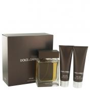 Dolce & Gabbana The One Gift Set 100 ml Eau De Toilette Spray + 50 ml Shower Gel + 50 ml After Shave Balm
