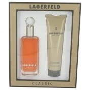 Karl Lagerfeld Lagerfeld Men Gift Set 100 ml Eau De Toilette Spray + 150 ml Shower Gel