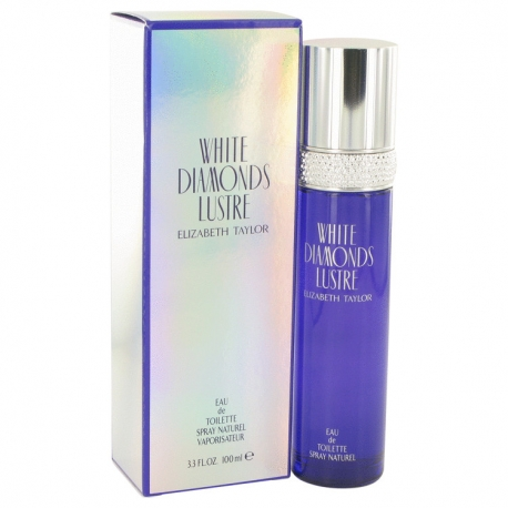 Elizabeth Taylor White Diamonds Lustre Eau De Toilette Spray