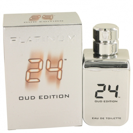 Scentstory 24 Platinum Oud Edition Eau De Toilette Concentree Spray (Unisex)