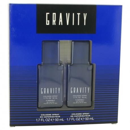 Coty Gravity Gift Set 2 X 50 ml Cologne Spray