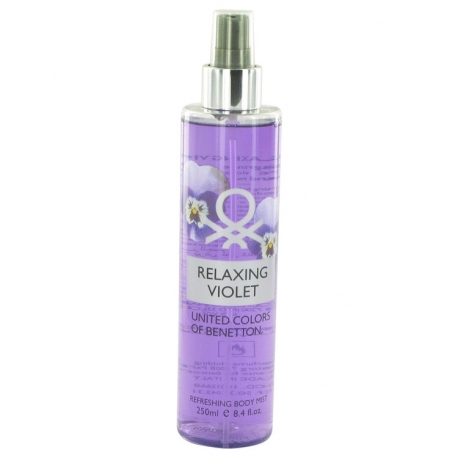 Benetton Relaxing Violet Refreshing Body Mist