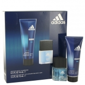 Adidas Moves Gift Set 15 ml Eau De Toilette Spray + 75 ml Hair & Body Wash