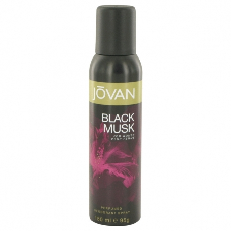 Jovan Black Musk For Men Deodorant Spray