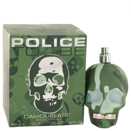 Police To Be Camouflage Eau De Toilette Spray (Special Edition)