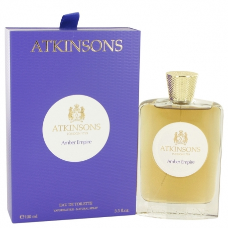 Atkinsons Amber Empire Eau De Toilette Spray