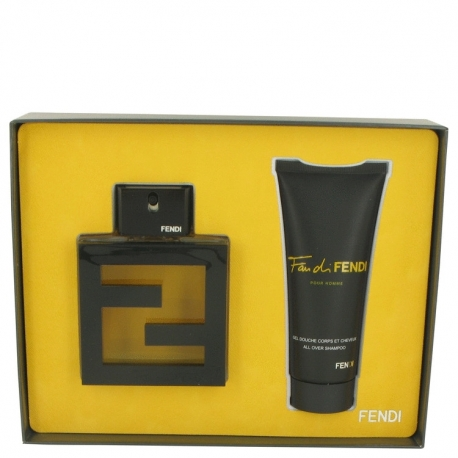 Fendi Fan Di Fendi Pour Homme Gift Set 100 ml Eau De Toilette Spray + 100 ml Shower Gel