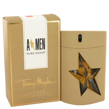 Thierry Mugler A*men Pure Wood Eau De Toilette Spray